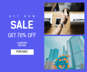 Square large web banner template for sales - #banner #businnes #sales #CallToAction #salesbanner #business #money #support #partnership #currency