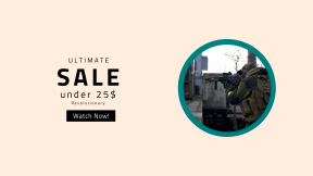 FullHD image template for sales - #banner #businnes #sales #CallToAction #salesbanner #rifle #armour #gun #shooting #army