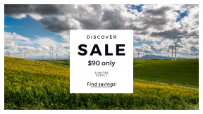 FullHD image template for sales - #banner #businnes #sales #CallToAction #salesbanner #power #sunny #sky #landscape #cloudy #eolien #wind