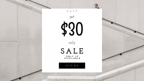 FullHD image template for sales - #banner #businnes #sales #CallToAction #salesbanner #plain #conference #consulting #stairs #guy