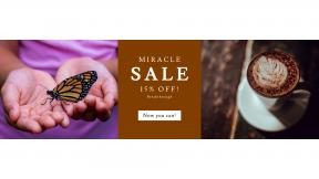 FullHD image template for sales - #banner #businnes #sales #CallToAction #salesbanner #morning #restaurant #butterfly #botanic #child #baristum #pattern