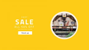 FullHD image template for sales - #banner #businnes #sales #CallToAction #salesbanner #bush #train #rail #graincar #transport #metal #derelict #abandoned #warning #electric