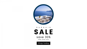 FullHD image template for sales - #banner #businnes #sales #CallToAction #salesbanner #view #table #sky #building #idealic #adding #button #seating #ocean #circular