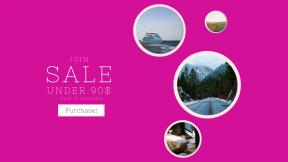 FullHD image template for sales - #banner #businnes #sales #CallToAction #salesbanner #fall #mac #work #person #season #keyboard