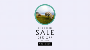 FullHD image template for sales - #banner #businnes #sales #CallToAction #salesbanner #wild #animal #backgrounds #coast #wallpapers #grass #sea