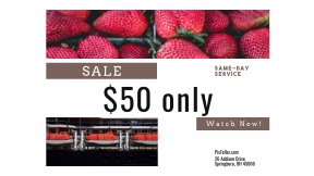 FullHD image template for sales - #banner #businnes #sales #CallToAction #salesbanner #boat #berry #shipping #supermarket #bay
