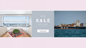 FullHD image template for sales - #banner #businnes #sales #CallToAction #salesbanner #house #looking #real #freight #cargo #table #goods #ocean #sea #transport
