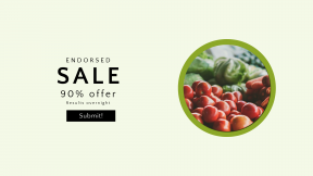 FullHD image template for sales - #banner #businnes #sales #CallToAction #salesbanner #stand #Cherry #field #natural #healthy #supermarket #display #depth #superfood #peppers