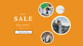 FullHD image template for sales - #banner #businnes #sales #CallToAction #salesbanner #engine #airplane #machine #woman #positive #construction #squares #talking