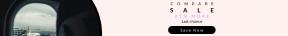 Leaderboard web banner template for sales - #banner #businnes #sales #CallToAction #salesbanner #station #black #window #ground #circular #tarmac #circle #essentials #canceled #air