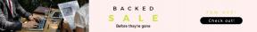 Leaderboard web banner template for sales - #banner #businnes #sales #CallToAction #salesbanner #online #newspaper #internet #deal #laptop #rounded #tablet #table