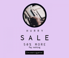 Square large web banner template for sales - #banner #businnes #sales #CallToAction #salesbanner #woman #design #card #material #writing #exterior #man #organize
