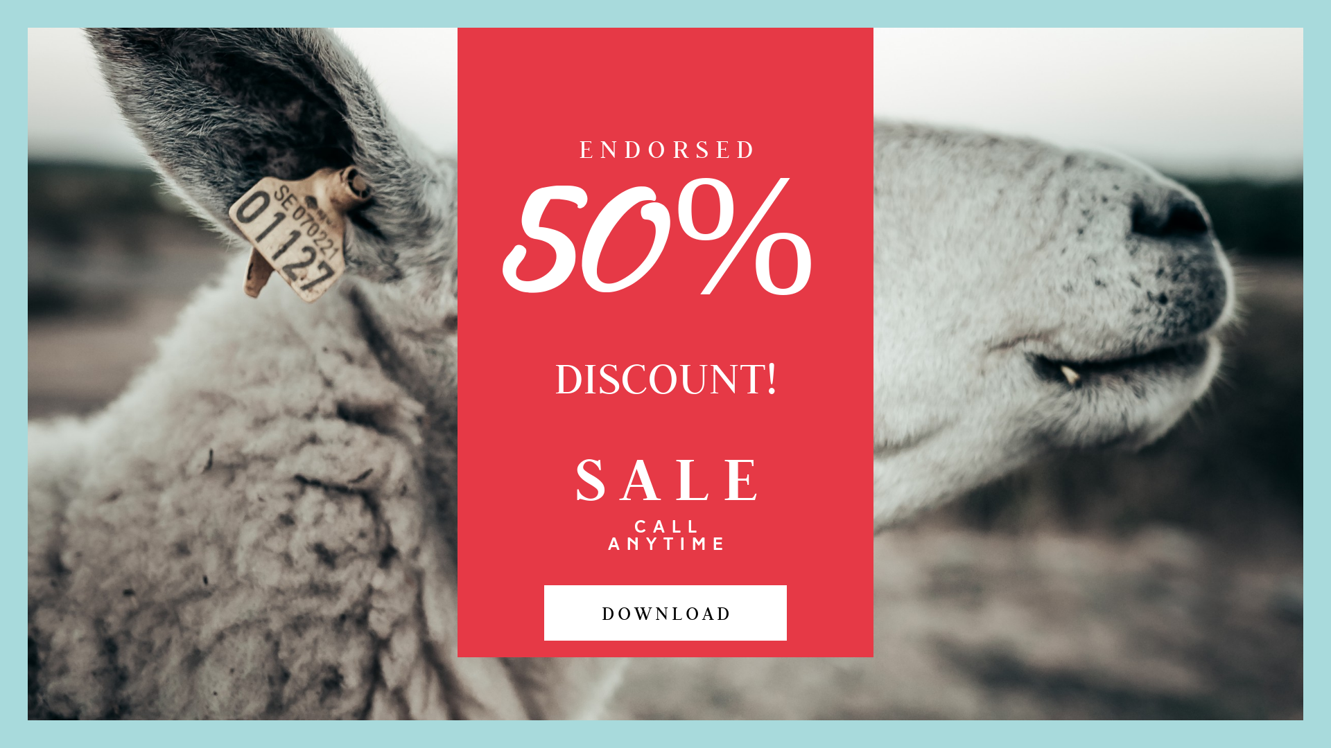 FullHD image template for sales - Design  Template