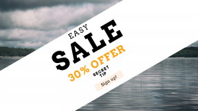 FullHD image template for sales - #banner #businnes #sales #CallToAction #salesbanner #coast #maritime #water #wood #boat #shore #sailboat #cloudy #lake #island