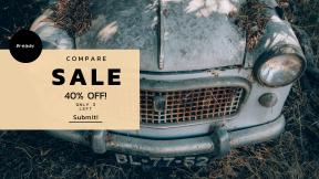 FullHD image template for sales - #banner #businnes #sales #CallToAction #salesbanner #bumper #old #leaf #fiat #vintage #urbex #classic #fender