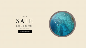 FullHD image template for sales - #banner #businnes #sales #CallToAction #salesbanner #water #borneo #beach #ocean #coast #drone