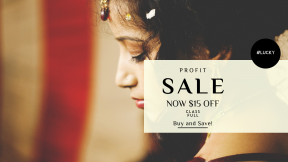 FullHD image template for sales - #banner #businnes #sales #CallToAction #salesbanner #middle #mehndi #jewelry #asian #female #model #circular #exotic