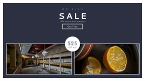 FullHD image template for sales - #banner #businnes #sales #CallToAction #salesbanner #balcony #business #urban #healthy #cooking #herbs #lemonade #decay #yellow