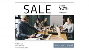FullHD image template for sales - #banner #businnes #sales #CallToAction #salesbanner #teamwork #collaboration #meeting #notes #work #working #together