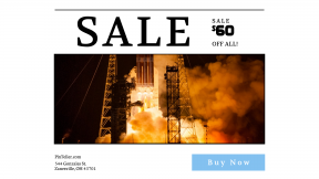 FullHD image template for sales - #banner #businnes #sales #CallToAction #salesbanner #hypergolic #space #flame #pond #ula