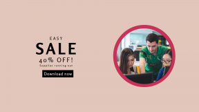 FullHD image template for sales - #banner #businnes #sales #CallToAction #salesbanner #collaboration #female #app #at #work
