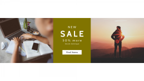 FullHD image template for sales - #banner #businnes #sales #CallToAction #salesbanner #macbook #remote #hills #hand #silhouette #sun #desktop #next