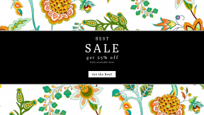FullHD image template for sales - #banner #businnes #sales #CallToAction #salesbanner #flower #design #flora #line #leaf #pattern #area #plant
