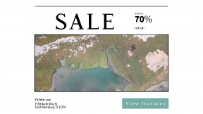 FullHD image template for sales - #banner #businnes #sales #CallToAction #salesbanner #ecology #aerial #view #reef #land