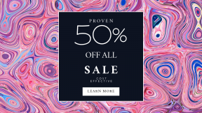 FullHD image template for sales - #banner #businnes #sales #CallToAction #salesbanner #art #circle #design #pattern #psychedelic #texture #paint
