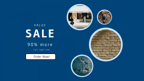 FullHD image template for sales - #banner #businnes #sales #CallToAction #salesbanner #3d #city #lux #button #building #shopping
