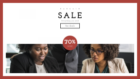 FullHD image template for sales - #banner #businnes #sales #CallToAction #salesbanner #communication #afro #manager #office #business #woman #presentation #strategy #teacher #working