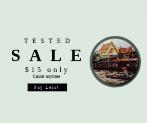 Square large web banner template for sales - #banner #businnes #sales #CallToAction #salesbanner #boat #card #travel #rowing #in #bangkok #water