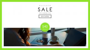 FullHD image template for sales - #banner #businnes #sales #CallToAction #salesbanner #job #work #typing #card #apple
