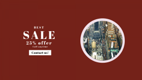 FullHD image template for sales - #banner #businnes #sales #CallToAction #salesbanner #new #electronic #downtown #bird's #nyc #macy #traffic #road