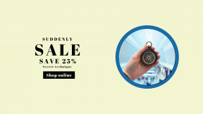 FullHD image template for sales - #banner #businnes #sales #CallToAction #salesbanner #hand #blue #shop #mall #center #compass #architecture