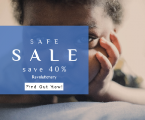 Square large web banner template for sales - #banner #businnes #sales #CallToAction #salesbanner #face #baby #hand #american #company #infant #eyes #eye #close #50mm