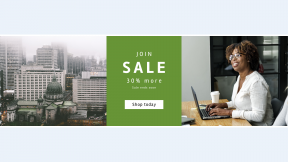 FullHD image template for sales - #banner #businnes #sales #CallToAction #salesbanner #structure #city #roofscape #famou #colleague #new #afro #happy