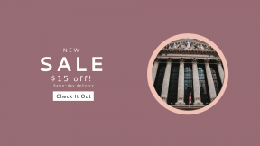 FullHD image template for sales - #banner #businnes #sales #CallToAction #salesbanner #market #frieze #exchange #new #flag #america #stock #marble #architecture