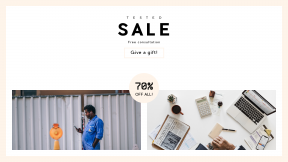 FullHD image template for sales - #banner #businnes #sales #CallToAction #salesbanner #mobile #pen #clipboard #coffee #paper