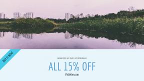 FullHD image template for sales - #banner #businnes #sales #CallToAction #salesbanner #water #reflection #reservoir #river #waterway #lake #bank #resources #sky #wetland