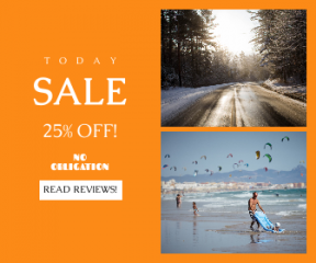 Square large web banner template for sales - #banner #businnes #sales #CallToAction #salesbanner #fun #national #boat #sand #path #person #float #time