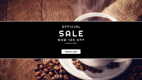 FullHD image template for sales - #banner #businnes #sales #CallToAction #salesbanner #coffee #cup #turkish #espresso #instant #drink #ristretto #cappuccino #caffeine