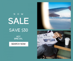 Square large web banner template for sales - #banner #businnes #sales #CallToAction #salesbanner #relaxing #aerospace #reading #waiting #sky