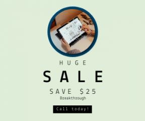 Square large web banner template for sales - #banner #businnes #sales #CallToAction #salesbanner #tablet #samsung #circular #chromebooks #shape #entrepreneur