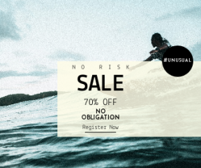 Square large web banner template for sales - #banner #businnes #sales #CallToAction #salesbanner #black #adventure #automation #surfing #surfer #surfboard #nature #sport #sea