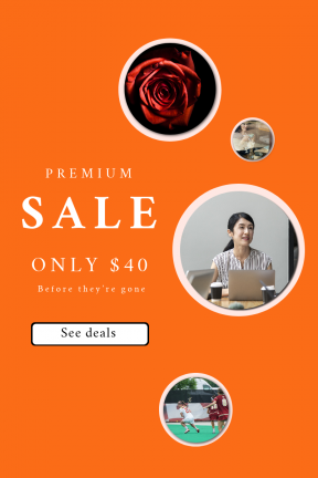 Portrait design template for sales - #banner #businnes #sales #CallToAction #salesbanner #turf #black #petal #worker #internet #button #athlete