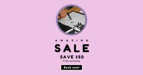 Card design template for sales - #banner #businnes #sales #CallToAction #salesbanner #shape #letter #circle #shapes #cretivity #minimal