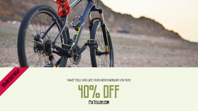 FullHD image template for sales - #banner #businnes #sales #CallToAction #salesbanner #ksa #outdoors #travel #transportasion #bicycle #mountain #bike
