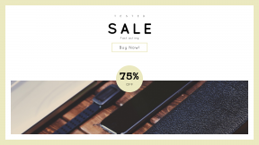 FullHD image template for sales - #banner #businnes #sales #CallToAction #salesbanner #mess #olloclip #iphone #wood #office
