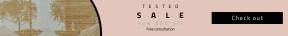 Leaderboard web banner template for sales - #banner #businnes #sales #CallToAction #salesbanner #city #computer #shapes #urban #vehicle #transport #button #garda